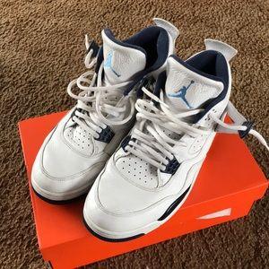 Air Jordan Retro IV Legn Blue